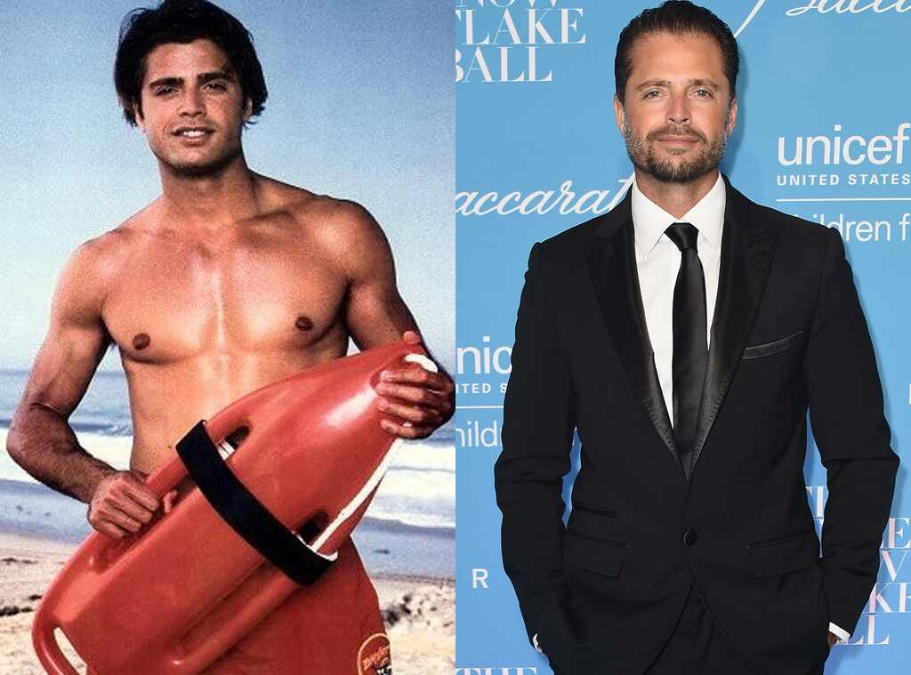David Charvet, Baywatch Then and Now