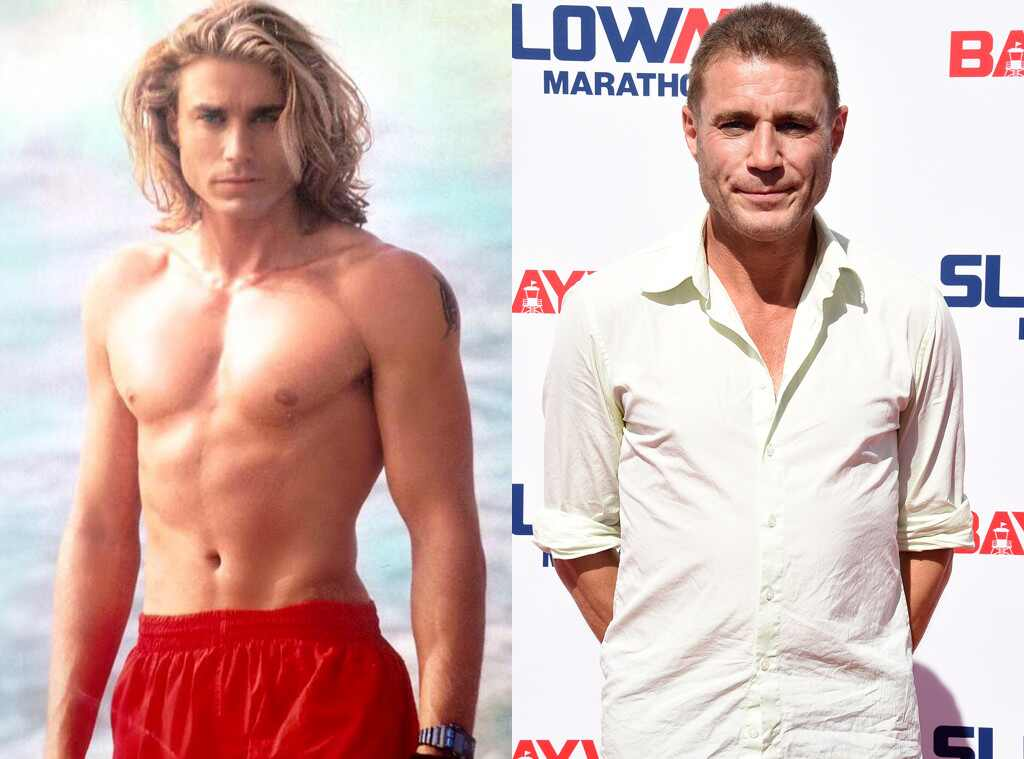 Jaason Simmons, Baywatch Then and Now
