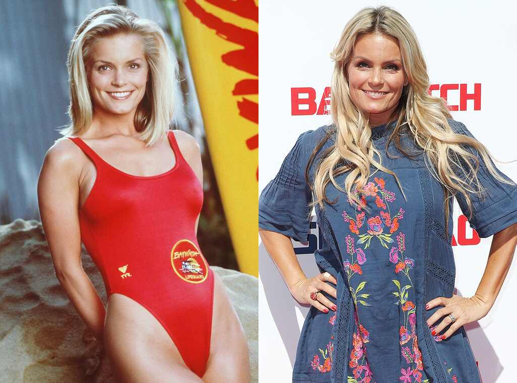 Kelly Packard, Baywatch Then and Now