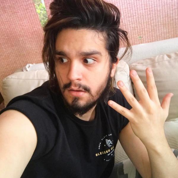 Luan Santana, Instagram