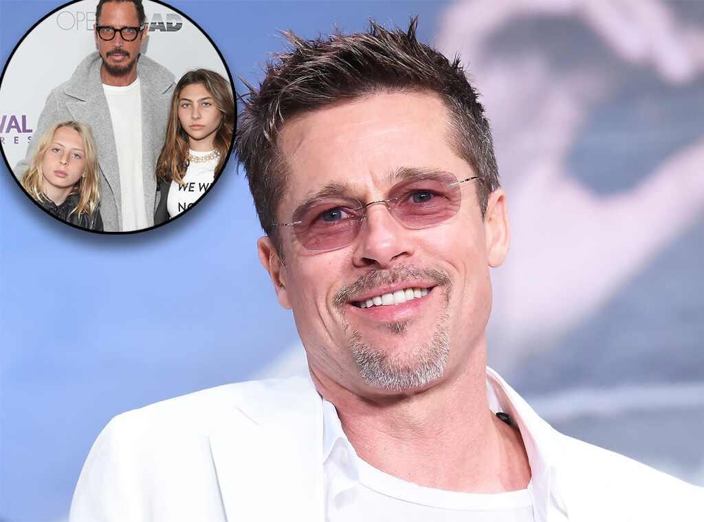 El noble gesto de Brad Pitt con hijos de Chris Cornell
