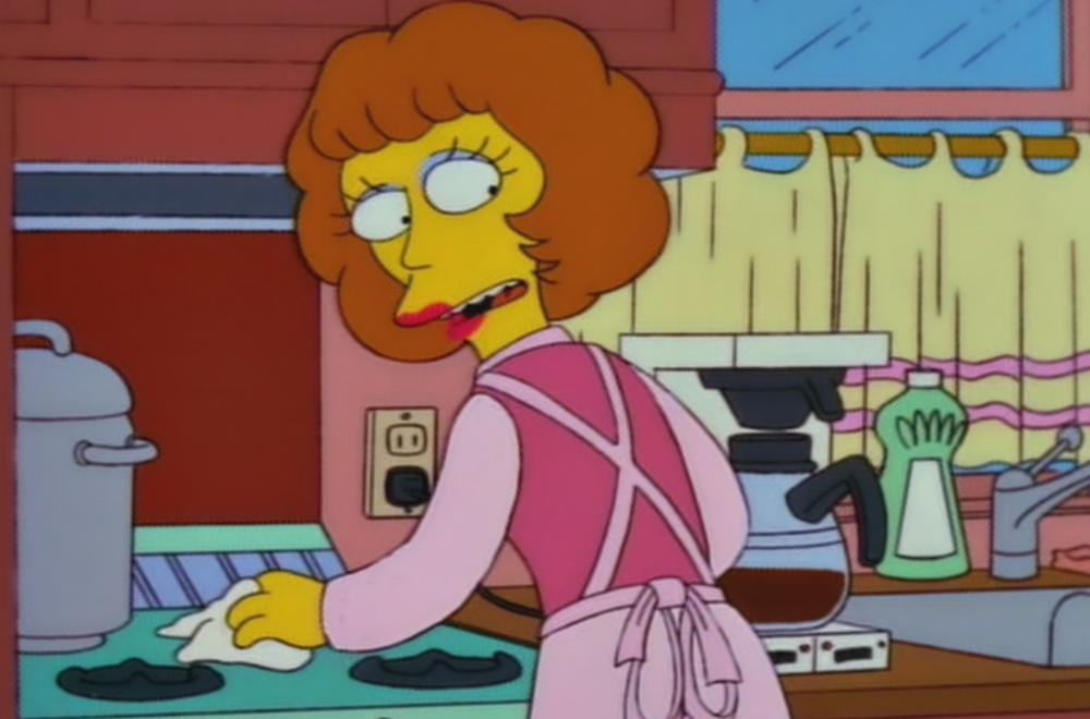 Magda Flanders, Los Simpsons
