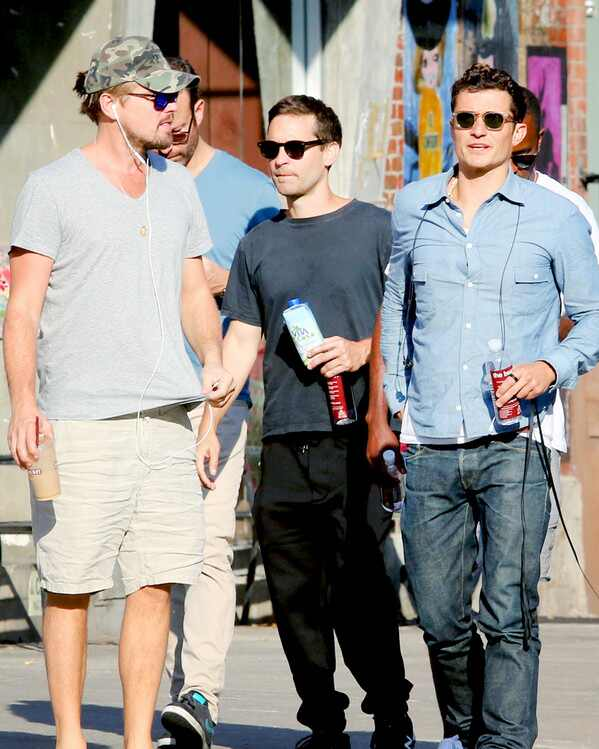 ESC: Leonardo DiCaprio, Tobey Maguire and Orlando Bloom