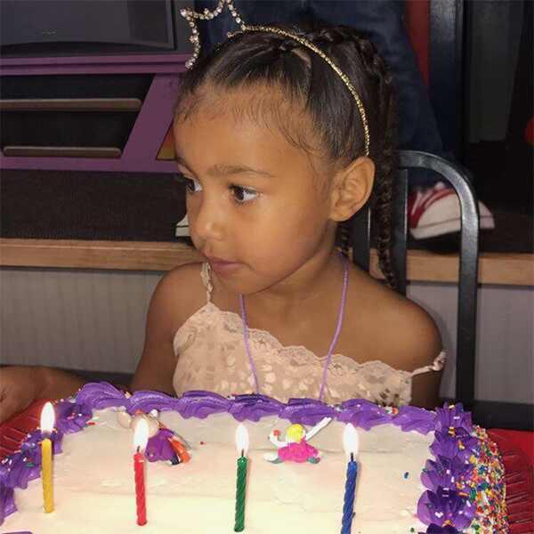 North West, 4th Birthday