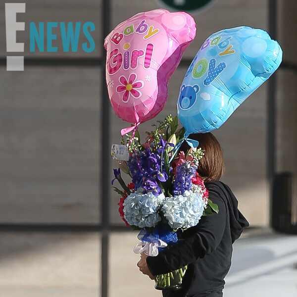 Beyonce, Jay-Z, Twins, Flower Delivery, UCLA Hospital