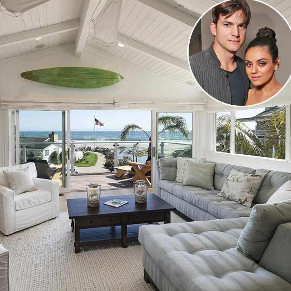 Mila Kunis, Ashton Kutcher, Home