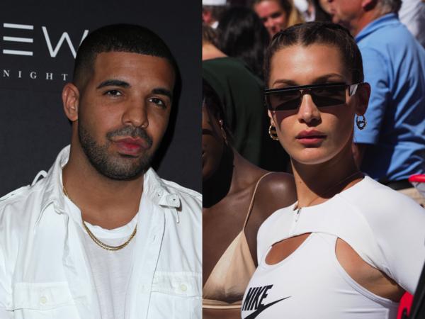 ¿Qué pasa entre Bella Hadid y Drake? ¡Míralos!