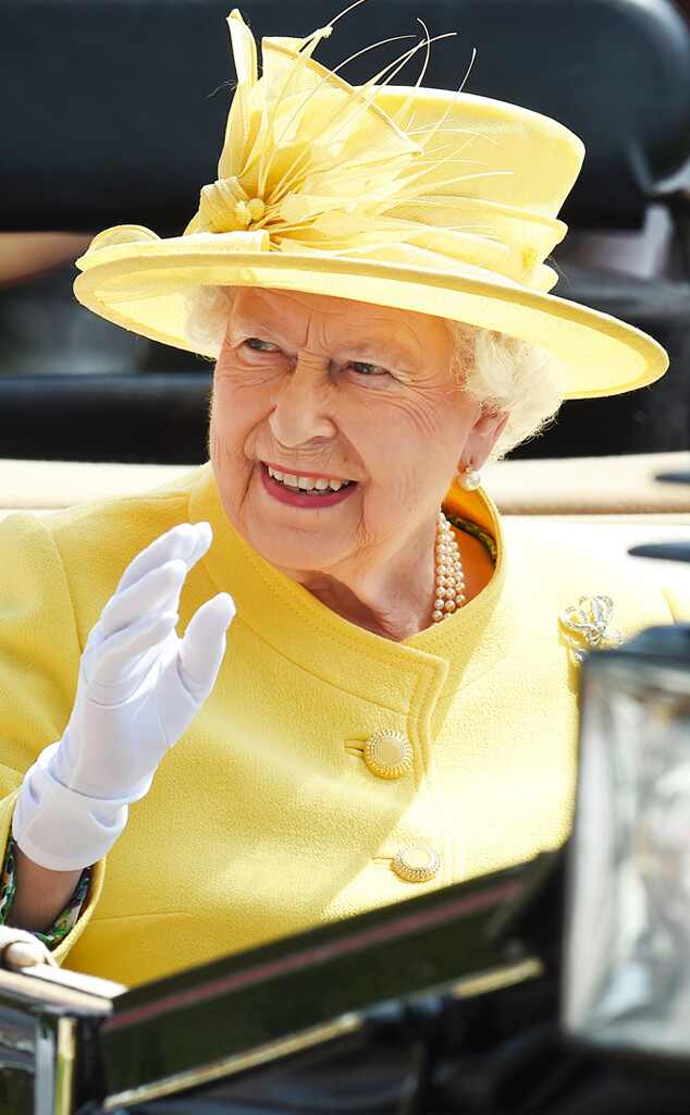 ESC: Royal Ascot Hats, Queen Elizabeth II