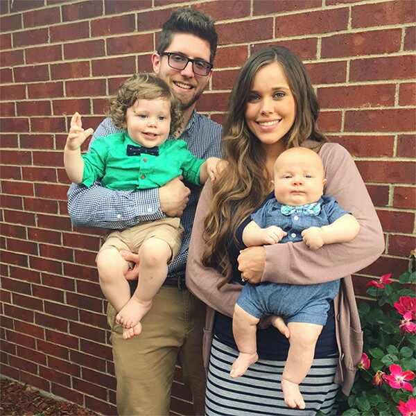 Jessa duggar, Ben Seewald, Sons, Kids, Spurgeon, Henry