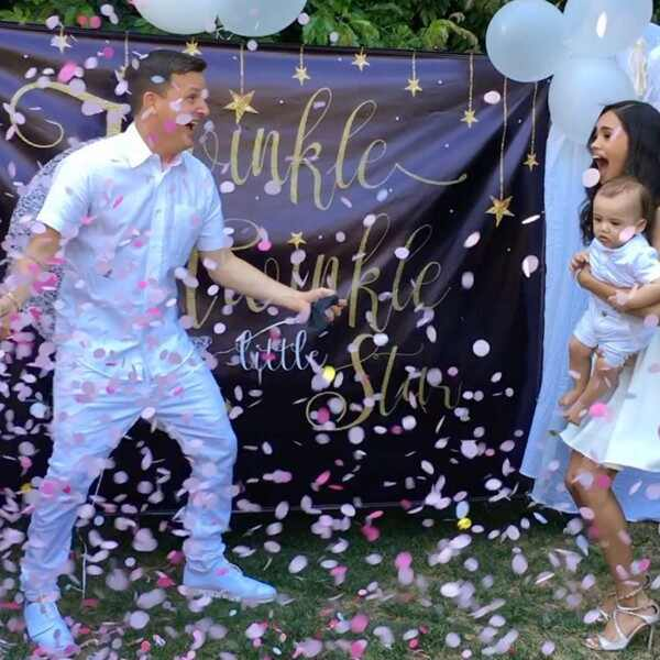 Rob Dyrdek, Wife Bryiana, Son Kodah, Baby Gender Reveal Party