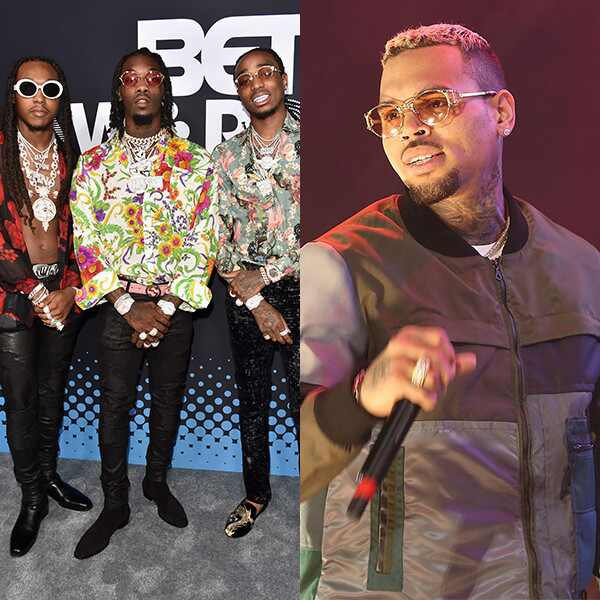 Migos, Chris Brown
