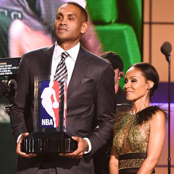 Grant Hill, Jada Pinkett Smith