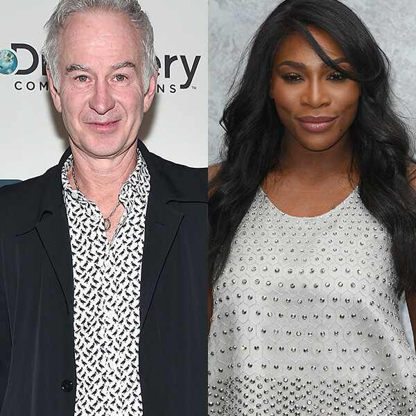 John McEnroe, Serena Williams