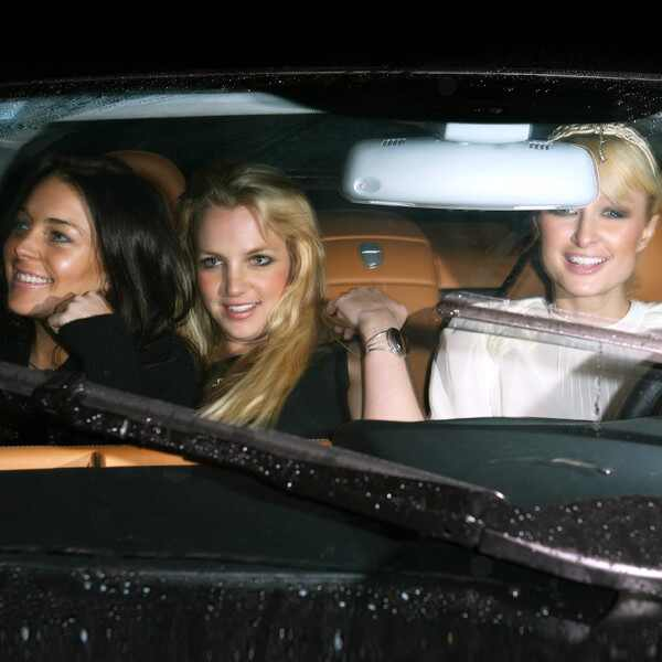 Lindsay Lohan, Britney Spears, Paris Hilton