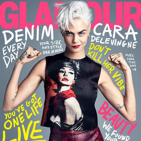 Cara Delevingne, Glamour