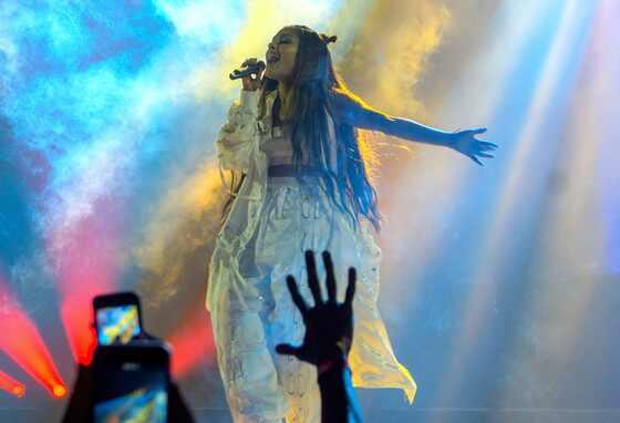 Ariana Grande, show no Rio de Janeiro