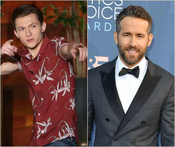 Tom Holland, Ryan Reynolds