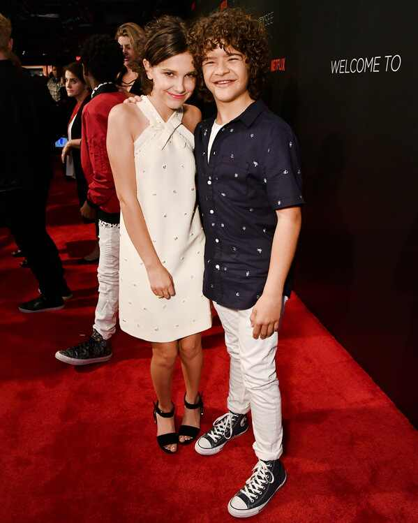 ESC: Millie Bobby Brown, Gaten Matarazzo