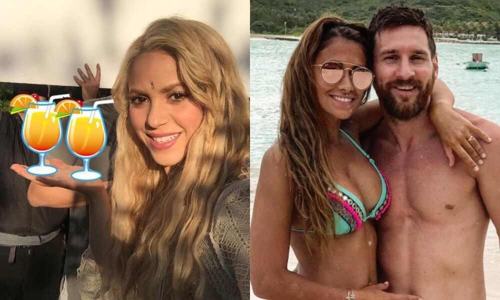 Shakira, Antonela Roccuzzo, Messi