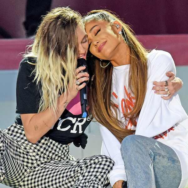 Miley Cyrus, Ariana Grande