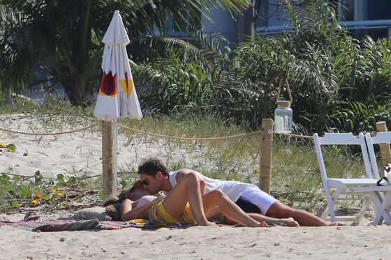 Ed Westwick, Jessica Michél Serfaty, Rio de Janeiro