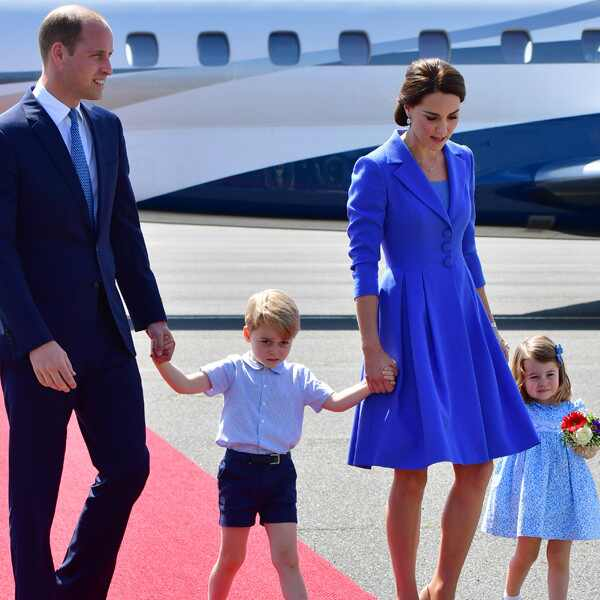 Prince William, Kate Middleton, Catherine, Duchess of Cambridge, Prince George, Princess Charlotte