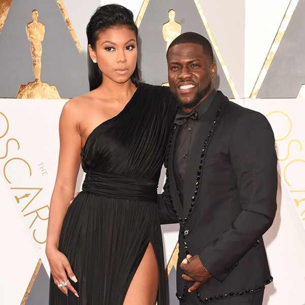 2016 Oscars, Academy Awards, Arrivals, Kevin Hart, Eniko Parrish, Couples