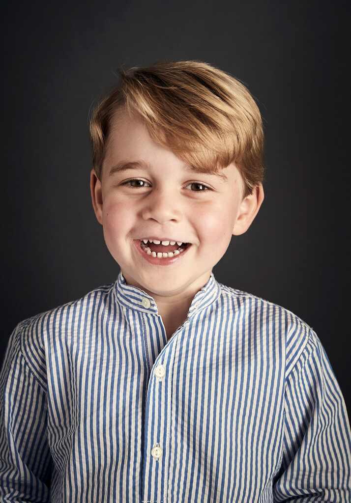 Prince George, Fourth Birthday Portrait
