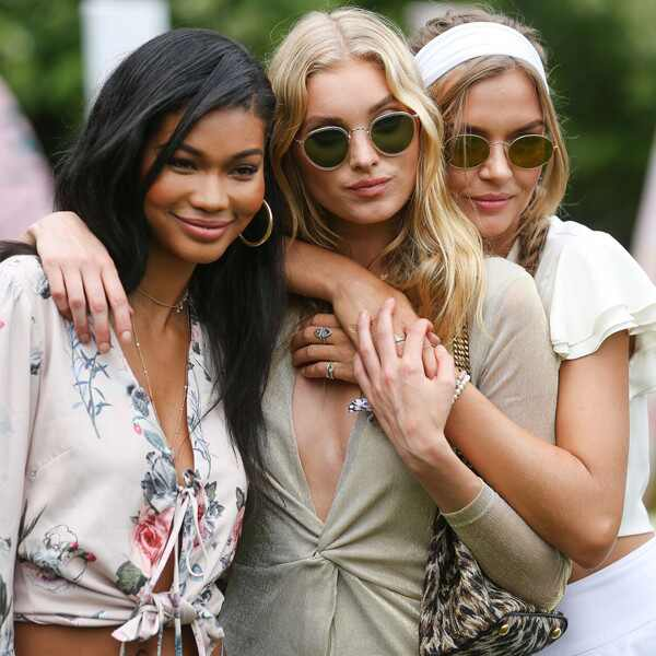 Chanel Iman, Elsa Hosk, Josephine Skriver