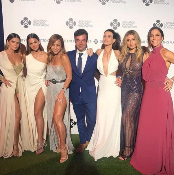 Bruna Marquezine, Sasha, Sabrina Sato e Ivete Sangalo vão a baile de Leonardo DiCaprio