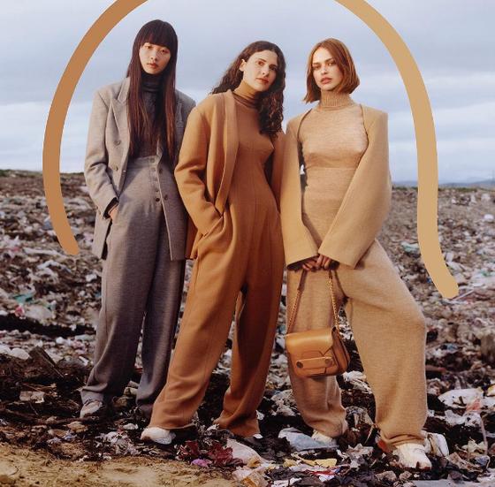 Stella McCartney, campanha no lixão