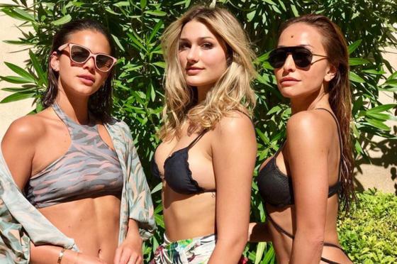 Sabrina Sato, Bruna Marquezine e Sasha lacram de biquíni em Saint-Tropez