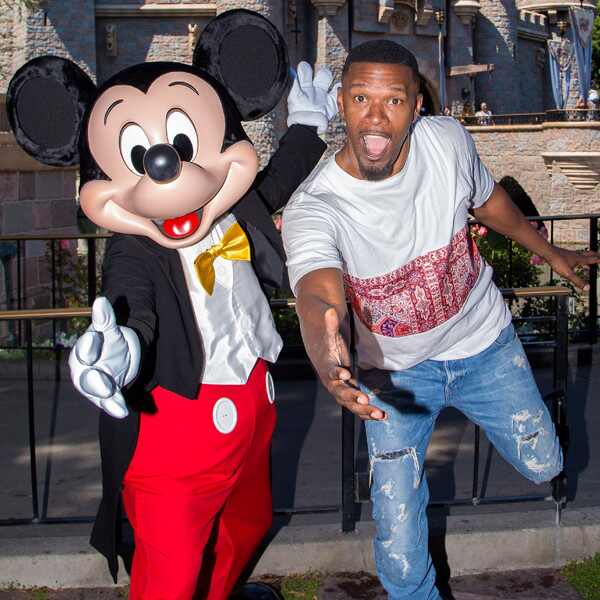 Jamie Foxx, Mickey Mouse
