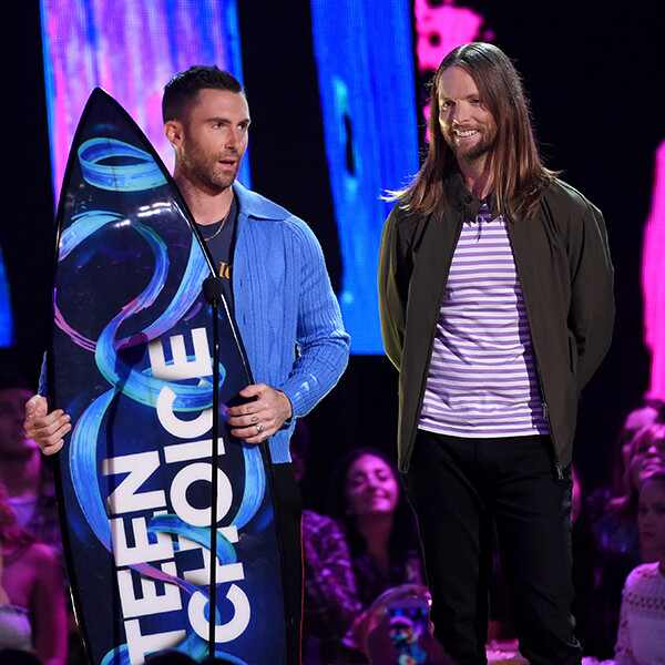 Adam Levine, James Valentine, 2017 Teen Choice Awards