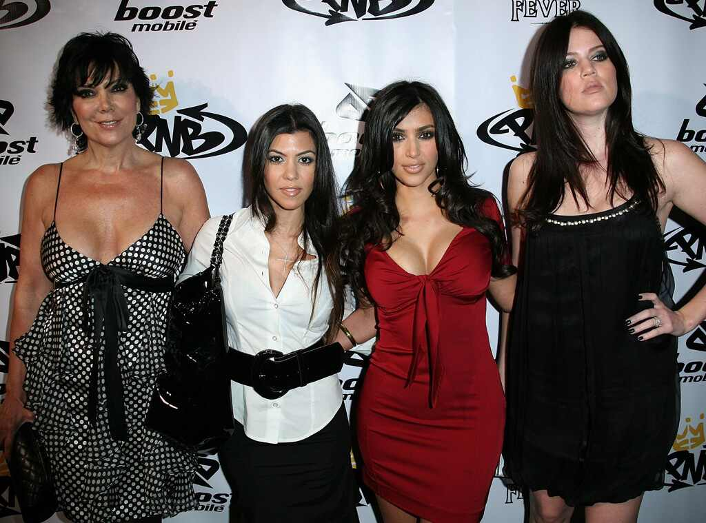 Kris Jenner, Kourtney Kardashian, Kim Kardashian, Khloe Kardashian