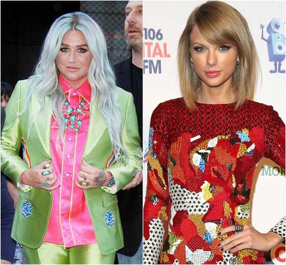 Kesha, Taylor Swift