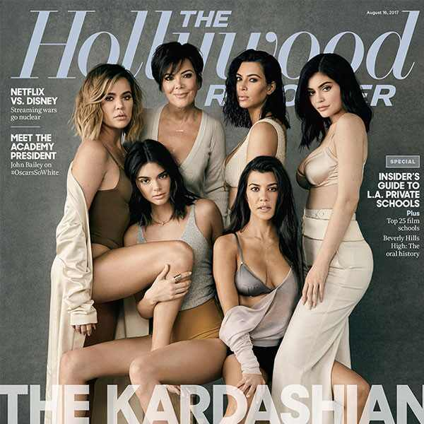 The Hollywood Reporter, The Kardashians