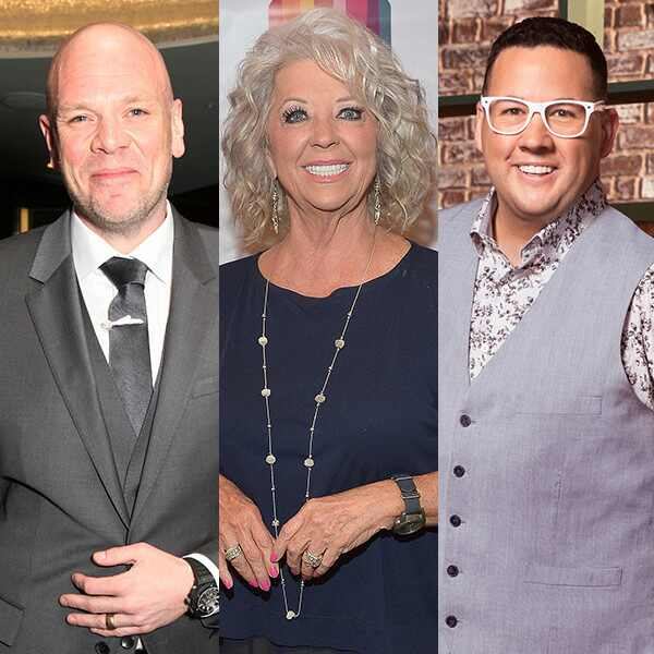Tom Kerridge, Paula Deen, Graham Elliot