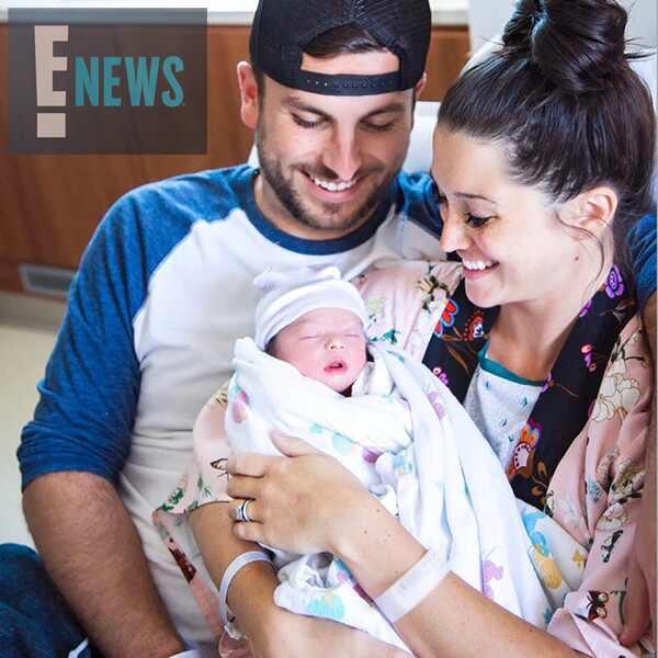 Tanner Tolbert, Jade Tolbert, Baby