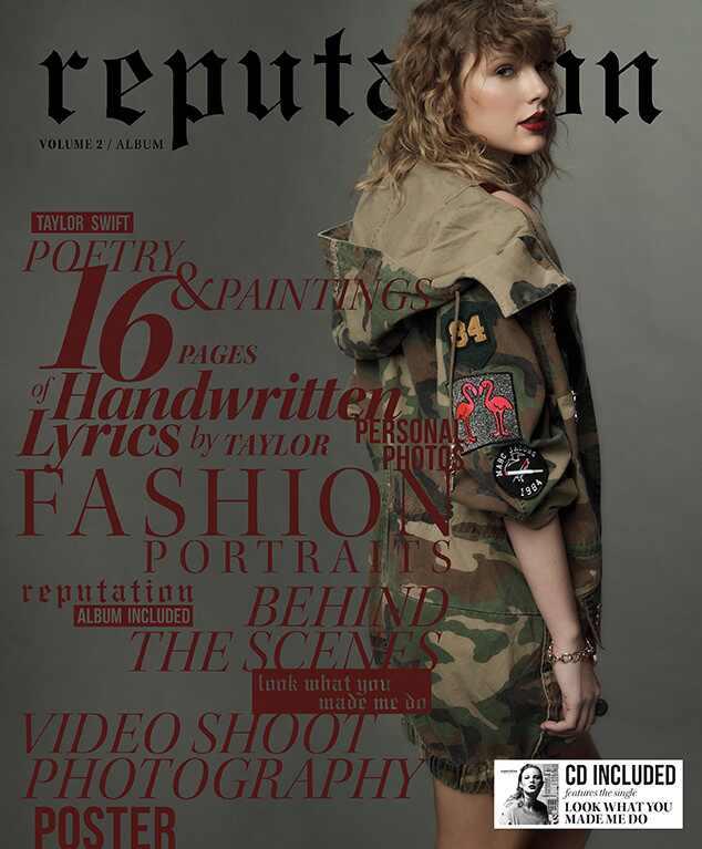 Taylor Swift, Reputation Magazine