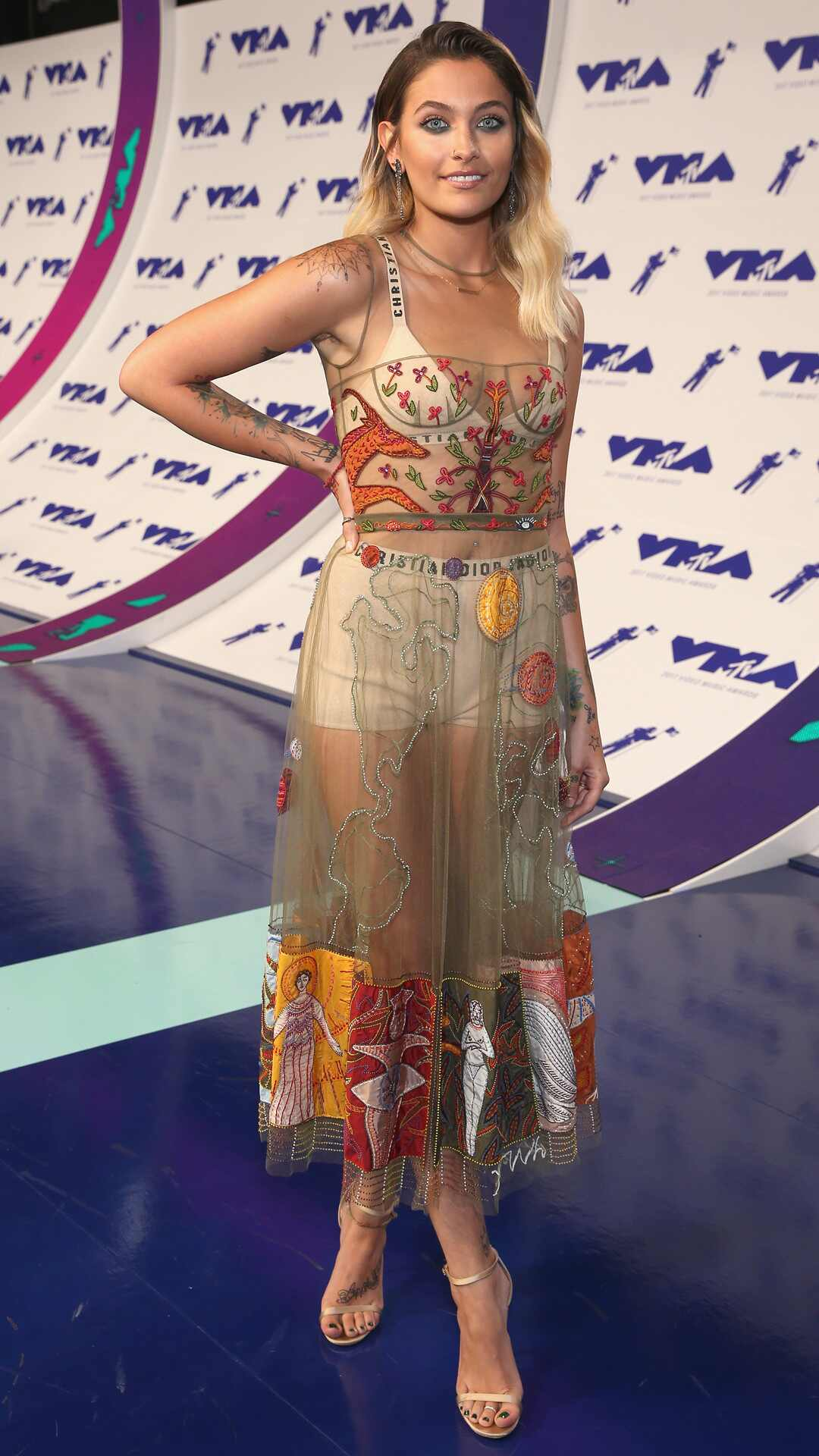 Paris Jackson, MTV Video Music Awards 2017