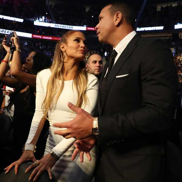 Mayweather VS McGregor, Jennifer Lopez, Alex Rodriguez