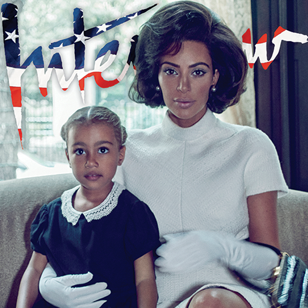 North West estrela primeira capa de revista com Kim Kardashian