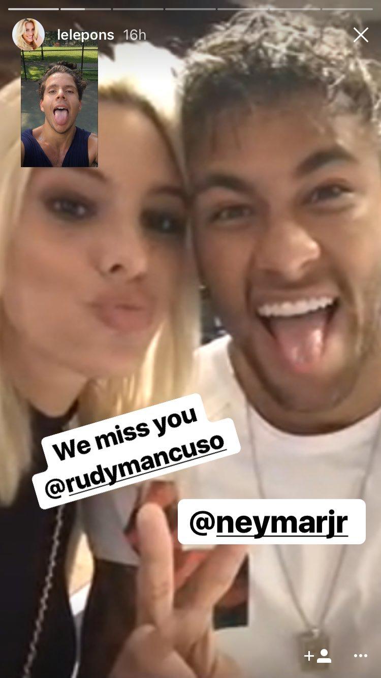 Lele Pons, Neymar