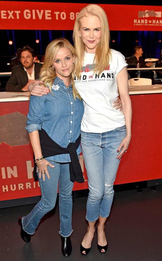 Reese Witherspoon & Nicole Kidman, Hand in Hand: A Benefit for Hurricane Relief
