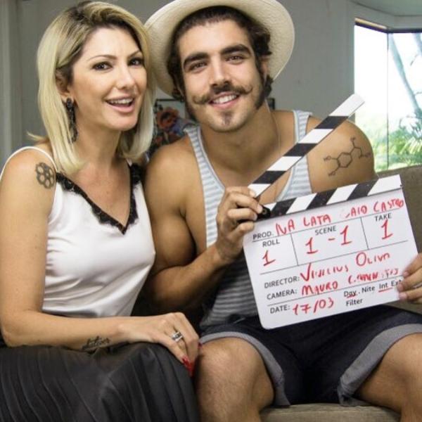 Antonia Fontenelle, Caio Castro