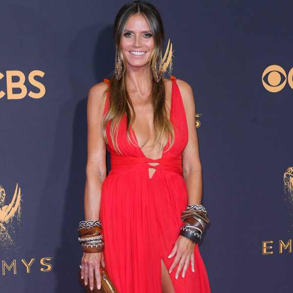 Heidi Klum, 2017 Emmy Awards, Arrivals