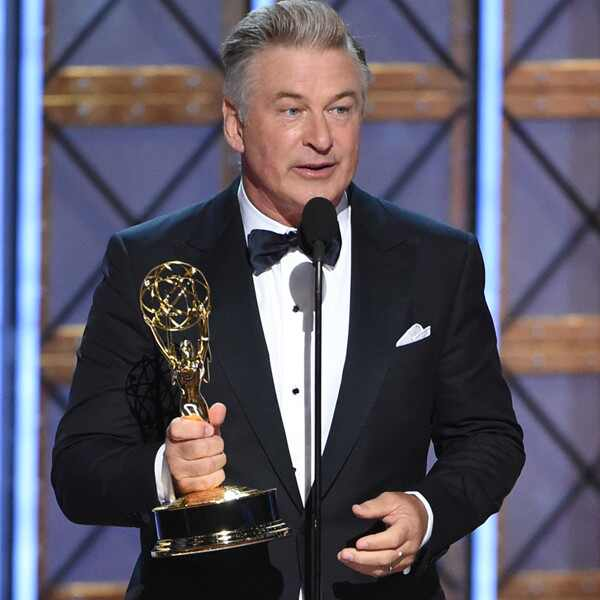 Alec Baldwin, 2017 Emmy Awards, Winners