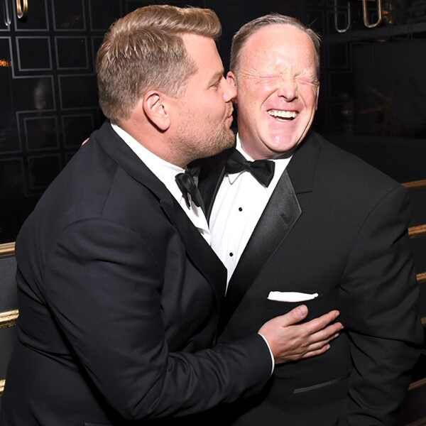 James Corden, Sean Spicer, 2017 Emmy Awards, Candids