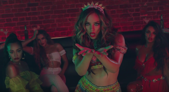Little Mix e CNCO lançam clipe sexy e dançante para Reggaetón Lento